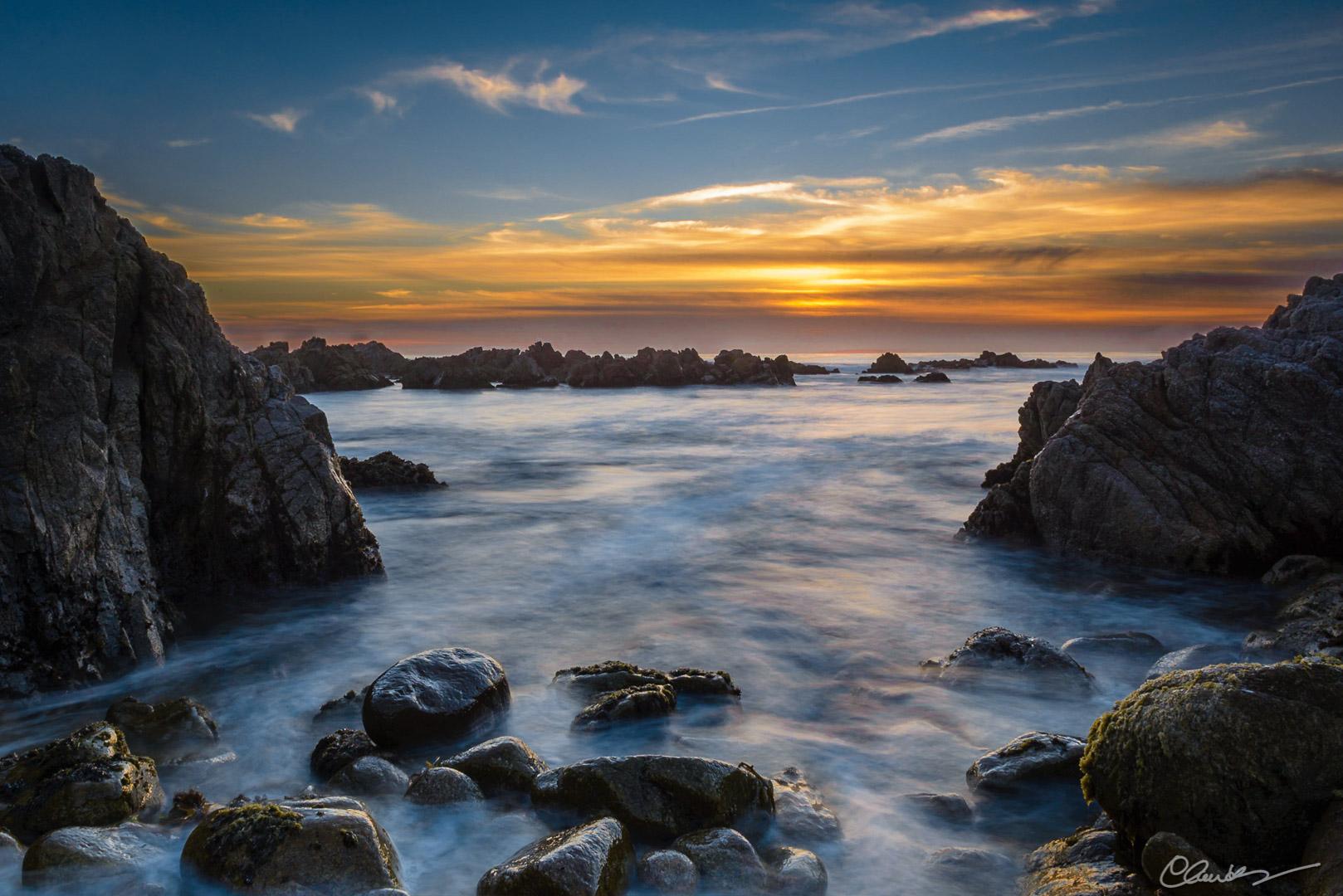 La baie de Montery (Californie) / Monterey Bay (California)