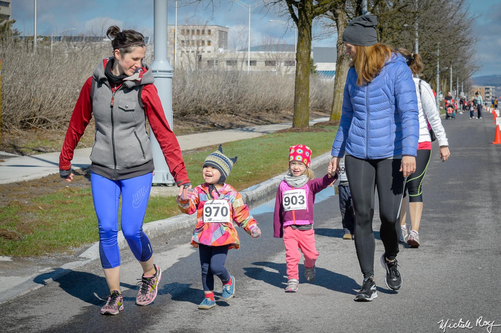1 km entre filles / 1 km between girls