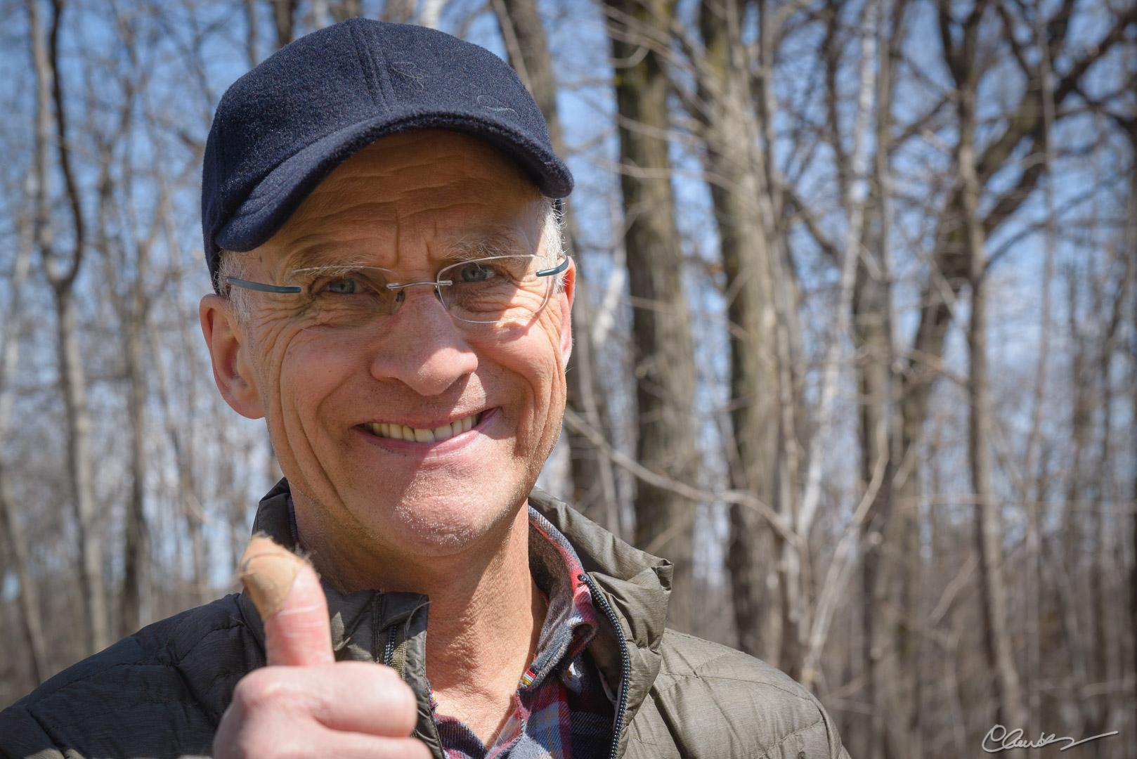 Richard, un directeur technique content / Richard, happy technical direcor
