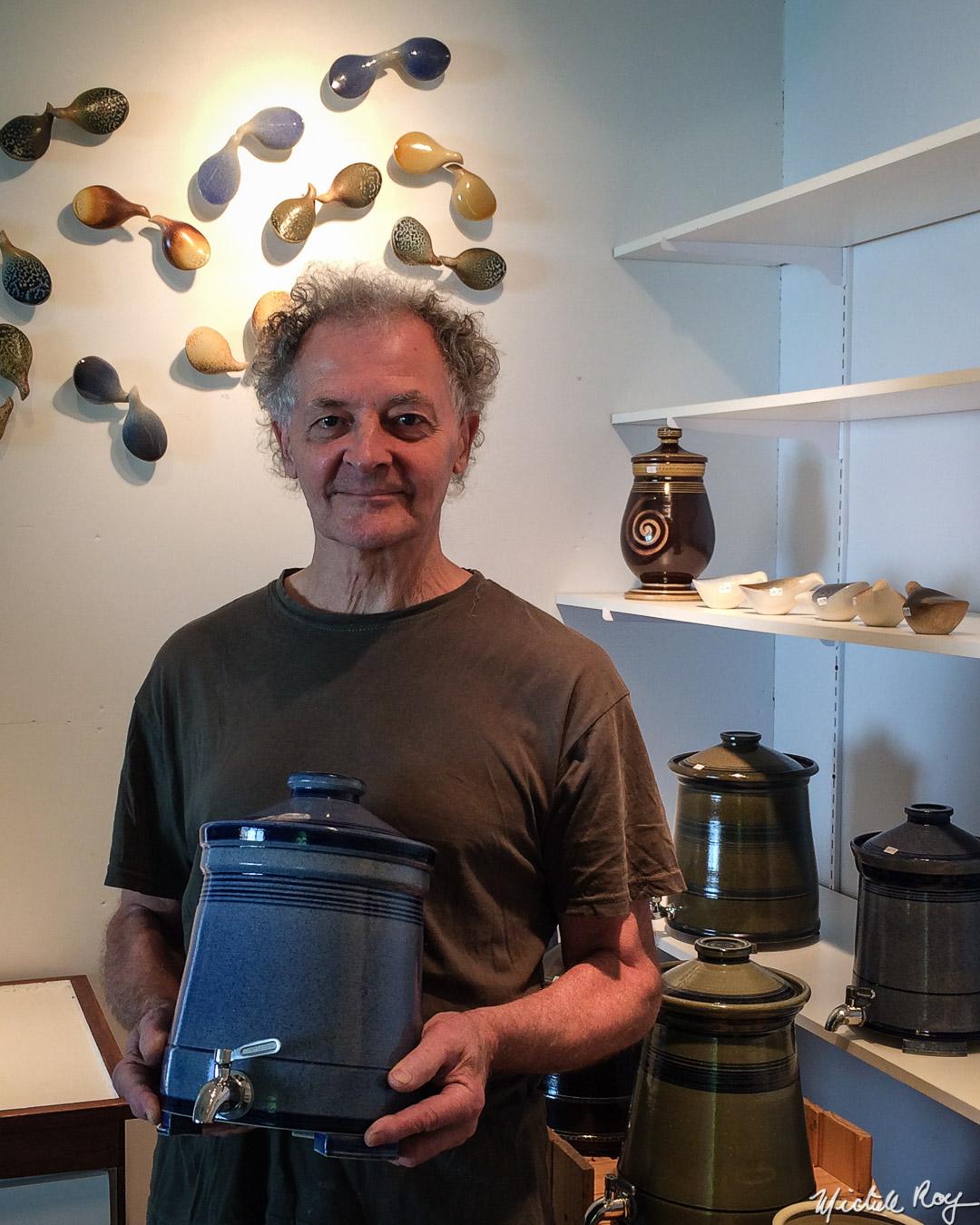 Jako Boulanger (Artiste potier / Pottery artist)