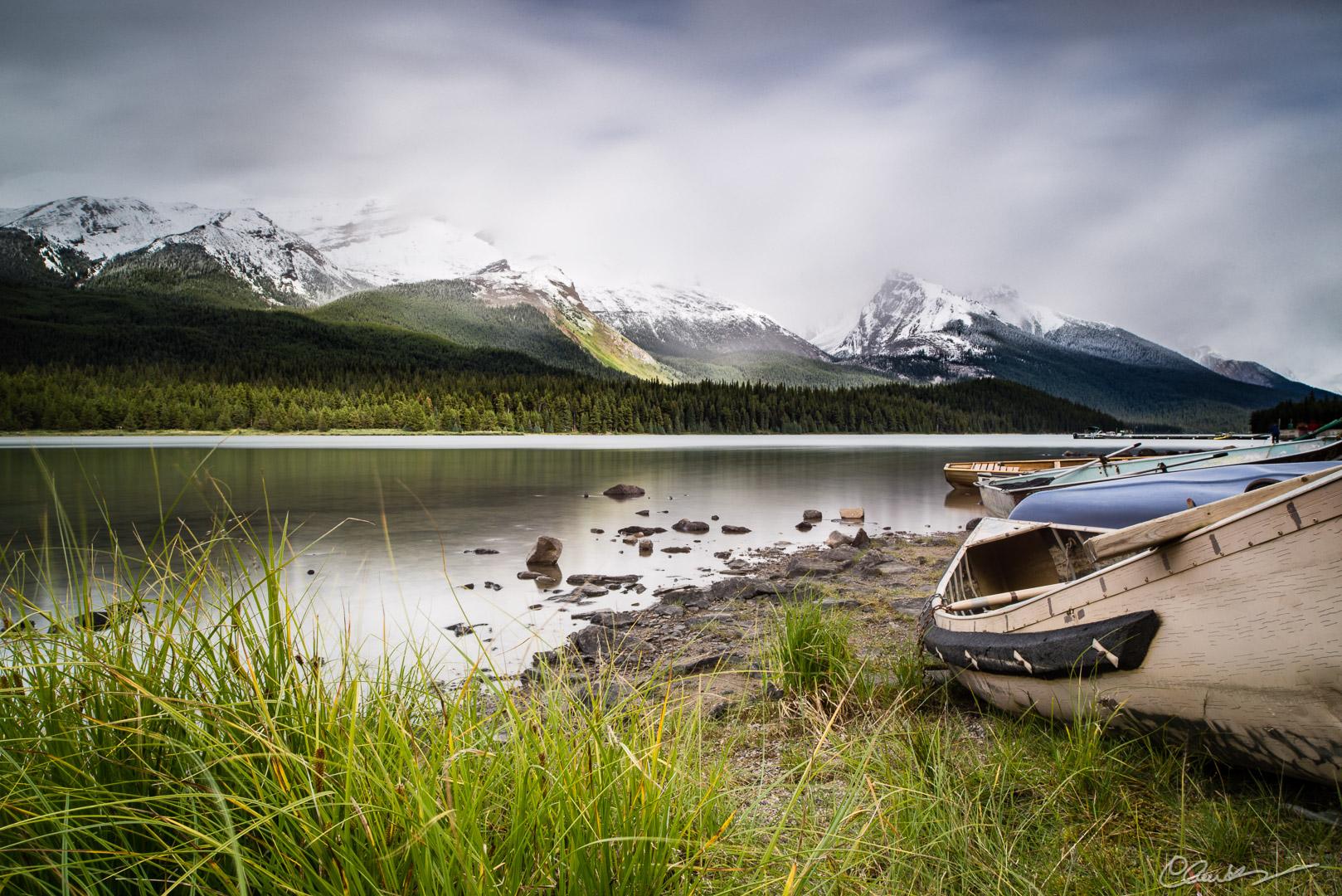 Lac Maligne Lake