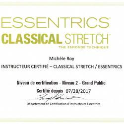 Certification niveau 2
