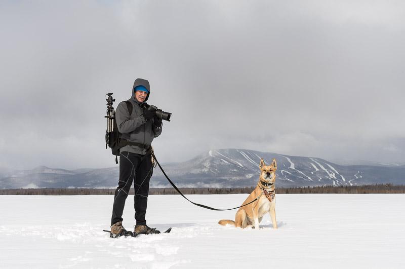 Mon conjoint Claudel Lemieux et mon chien Pedro qui mon encouragée tout au long de ce projet.
