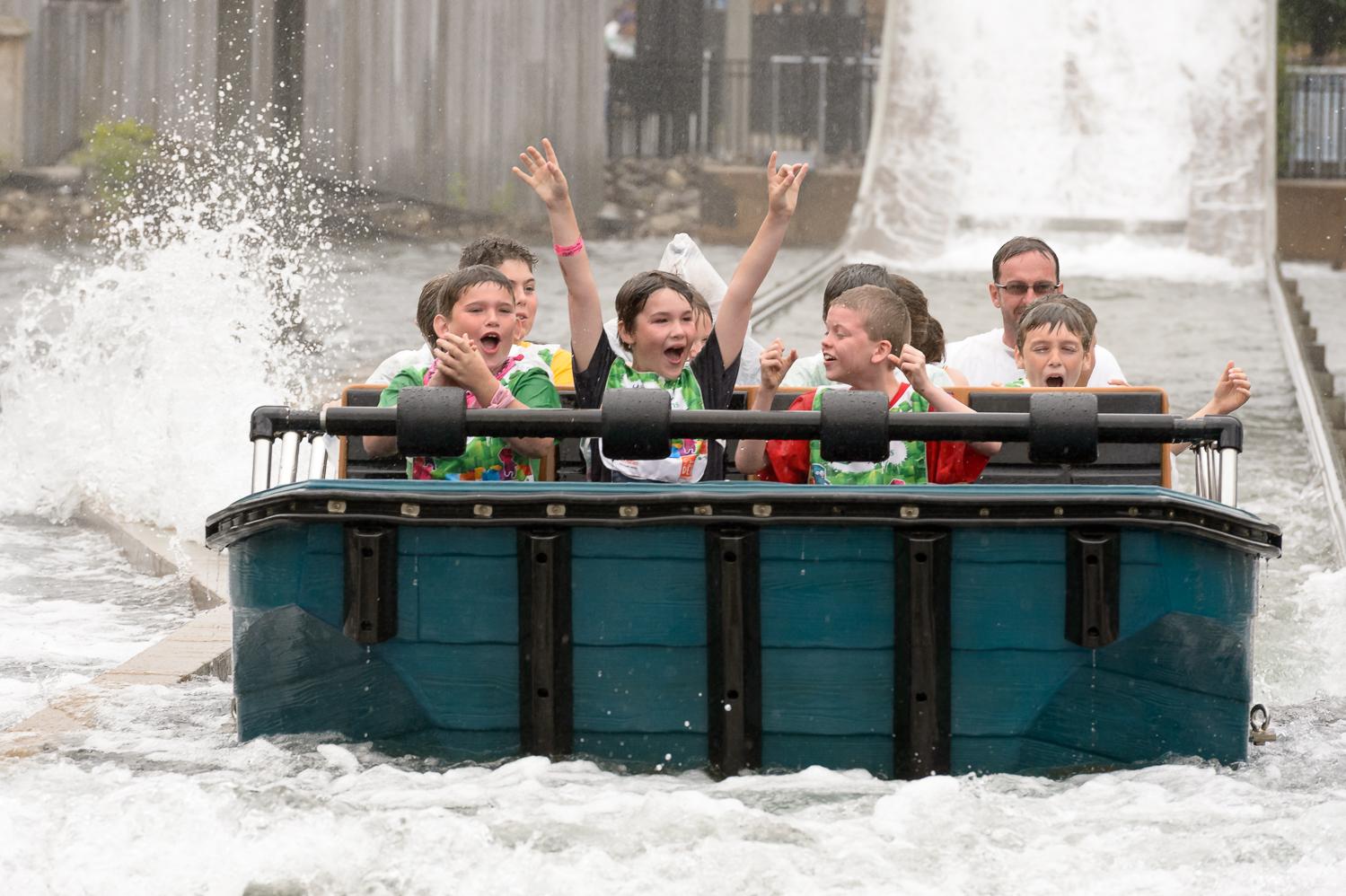 Après le 'splash'