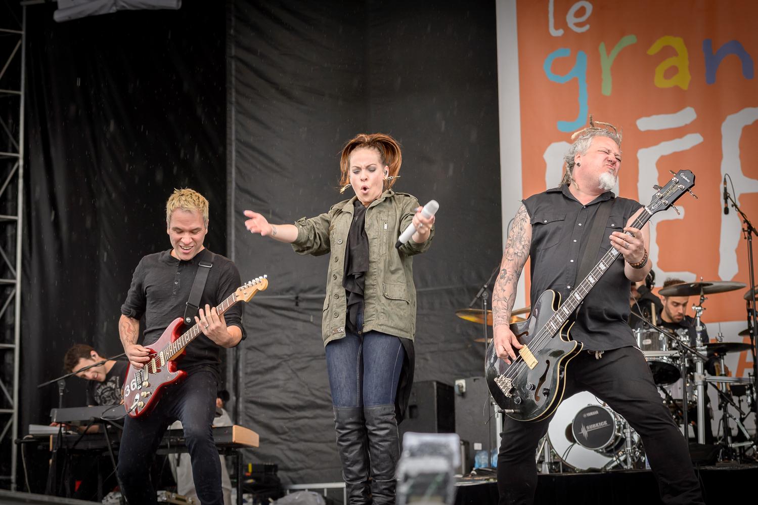 Marie-Mai et ses musiciens