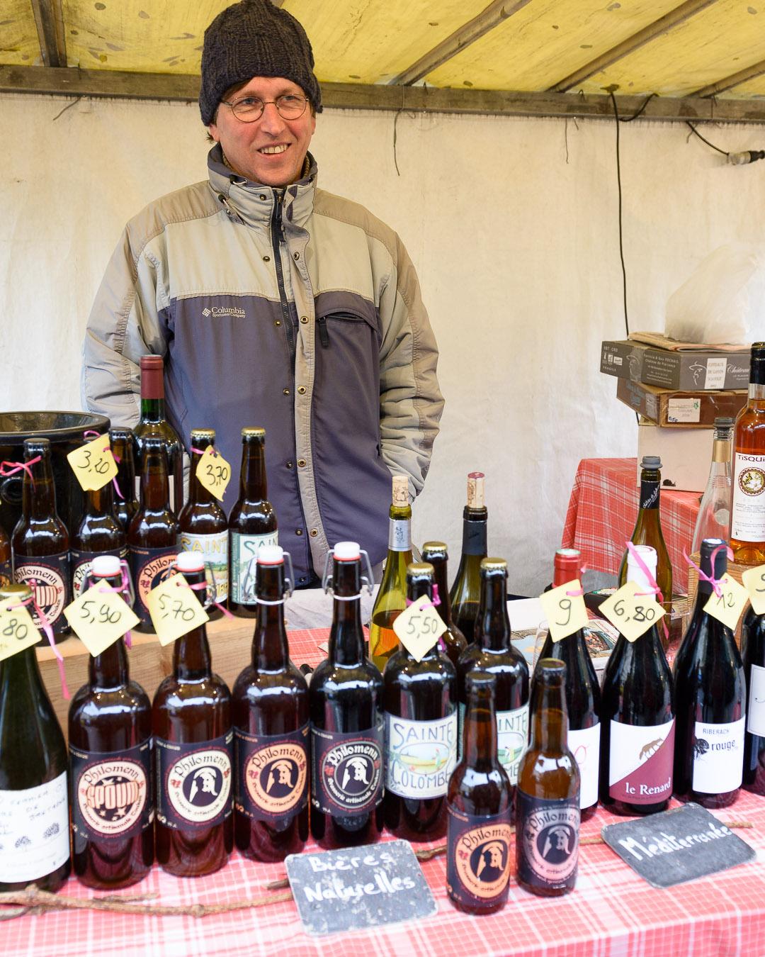 Bières artisanales de Bretagne