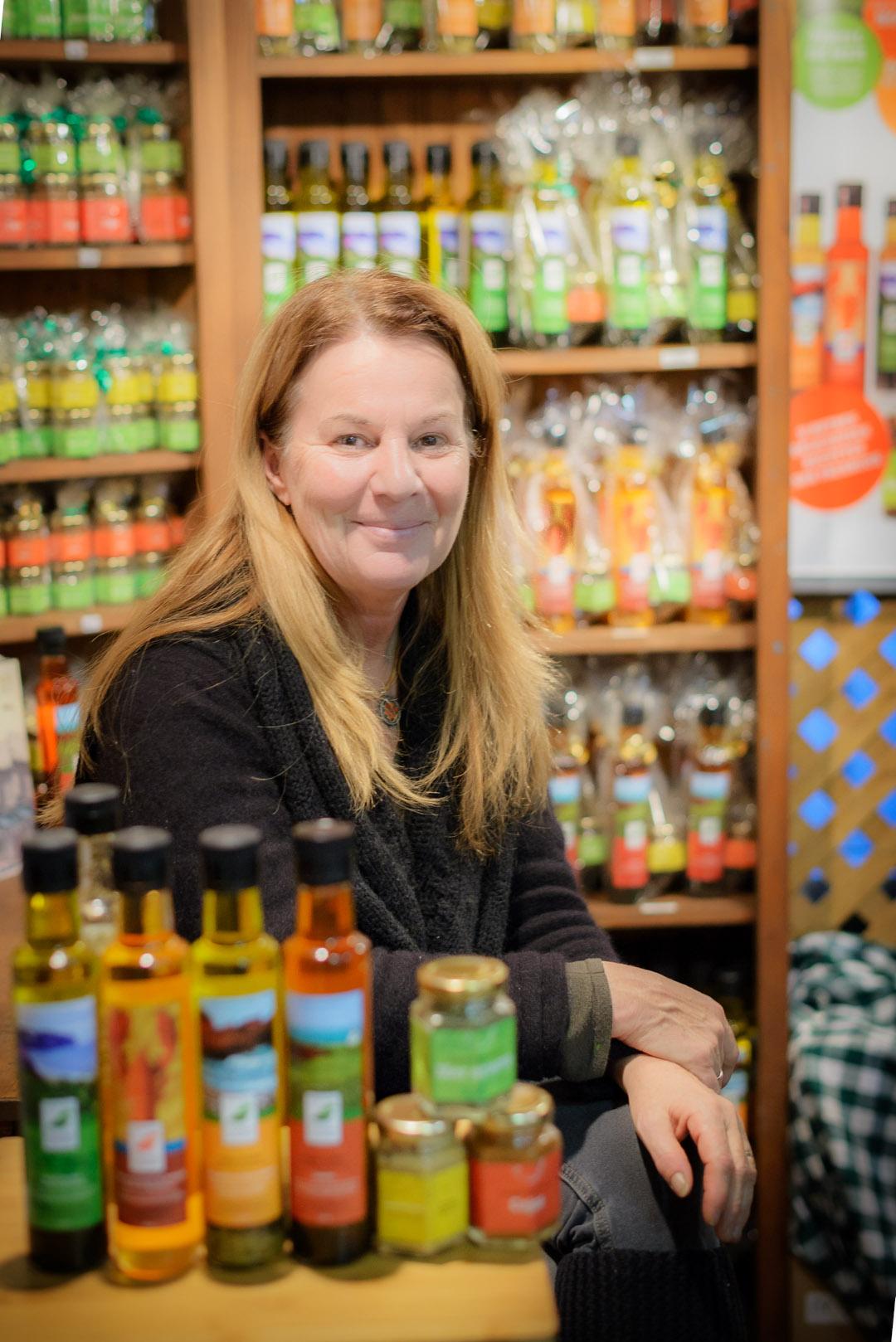 Une femme des plus convaincante et convaincue de la valeur de ses produits!