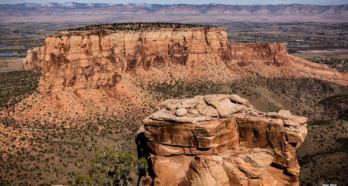 Colorado Monument and Colorado Valley