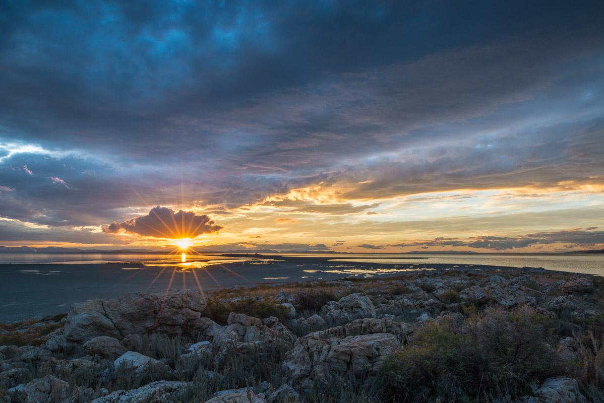 Coucher de soleil sur antilope island - Horaire coucher soleil 2015 ...