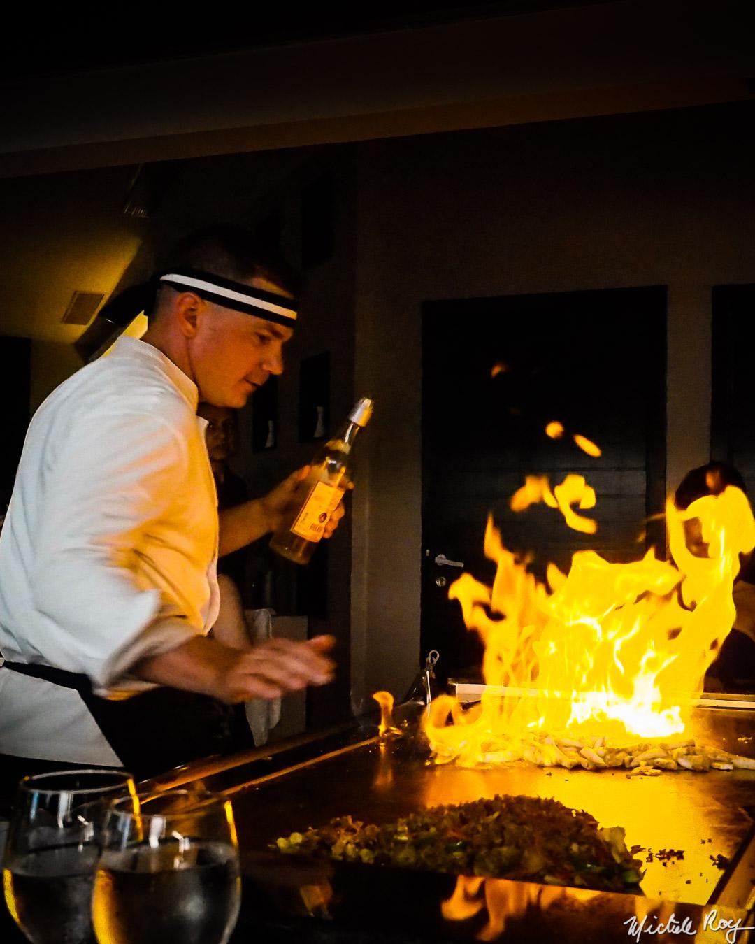 La plaque japonaise / Japanese cooking