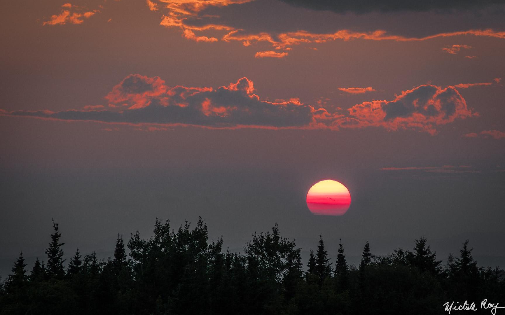 Sunset / Coucher de soleil