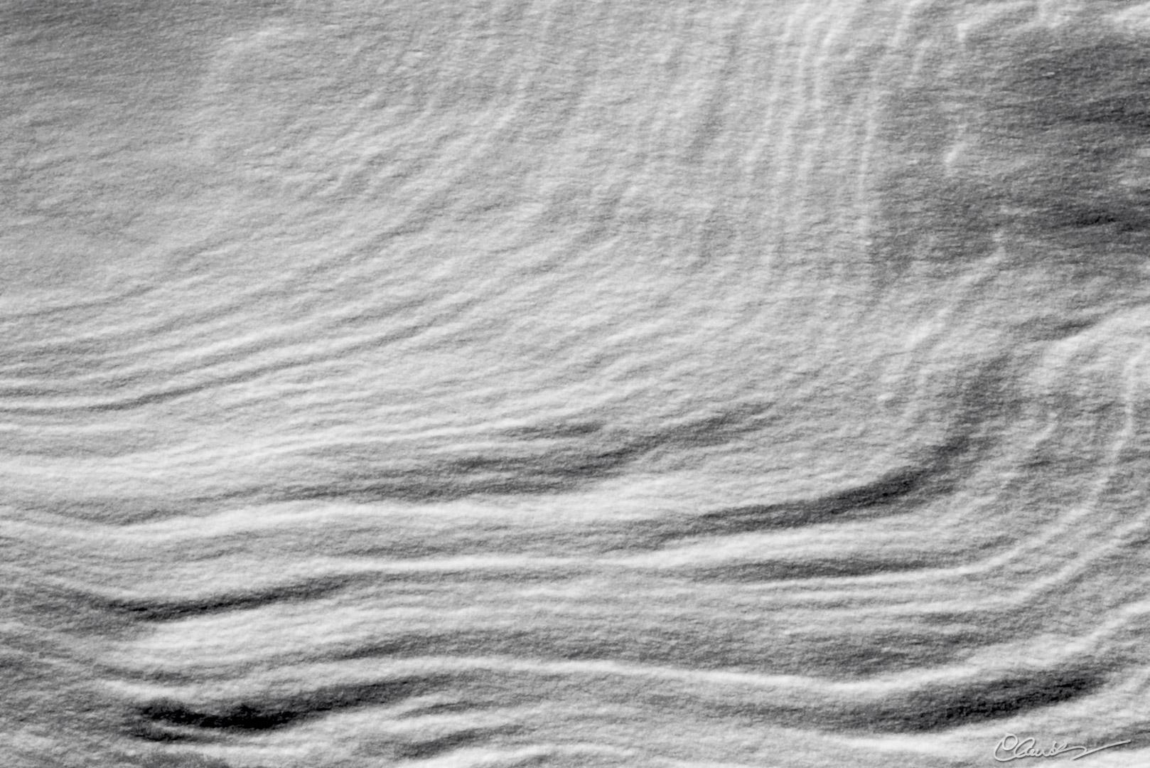 Vagues de neige / Snow waves