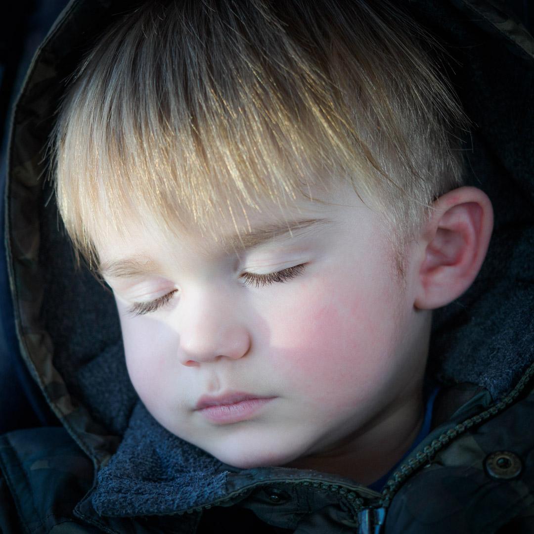 Le repos du petit guerrier / Little warrior at rest